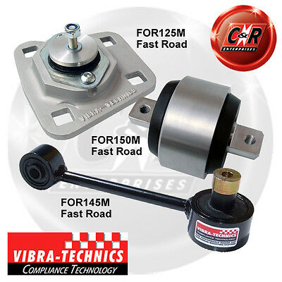Ford Fiesta MK4 Vibra Technics Full Engine Mount Road Kit