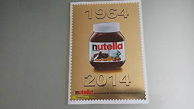 50 Jahre nutella Briefmarken, Folder etc.