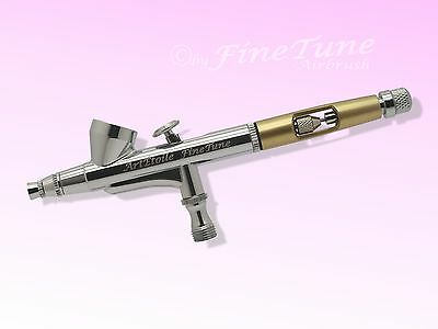 FineTune FT-730 NailArt - Ladyline gold Double Action Airbrushpistole 0,3mm