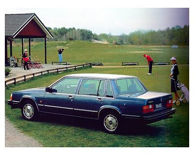 1982 Volvo 760 Automobile Photo Poster zuc7311