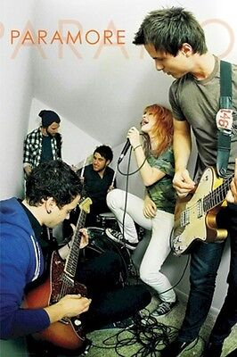 PARAMORE POSTER ~ ATTIC 24x36 Music Hayley Williams