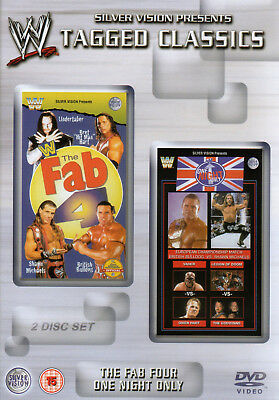 WWE The Fab Four 4 & One Night Only 2x DVD TAGGED CLASSICS EDITION