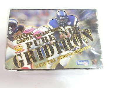 Football Pure Nfl Gridironby Pacific Collection 1995 Unopened Box With 36 Packs