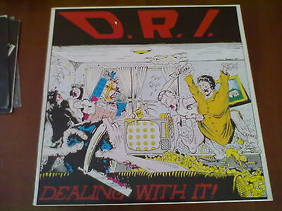 D.r.i. - Dealing With It! Lp Mint/mint 1° Stampa Raro Hc Thrash Cult!!!