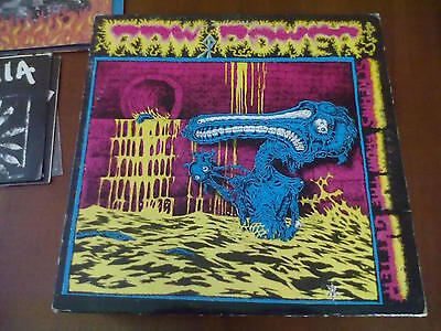 Raw Power - Screams From The Gutter Clear Lp 1° Stampa Ex-/ex!!! Raro