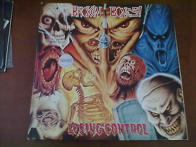 Broken Bones - Losing Control Lp Mint/near Mint Cult Metal 1989 Gatefold!!!