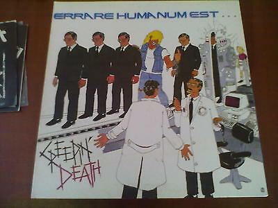 Creepin' Death - Errare Humanum Est Lp Mint/near Mint Gatefold!!!