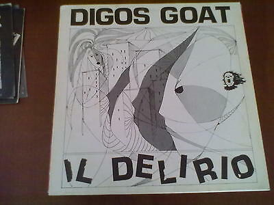 Digos Goat - Il Delirio Hc Punk Italy 1987 Cult!! Mint/mint Rarissimo!!!!