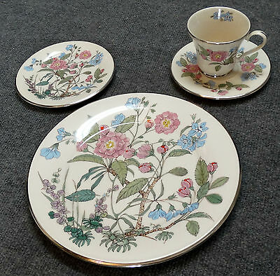 4 Pc Gorham China Fairmeadows Place Setting, Dinner, Bread, Cup & Saucer, Mint