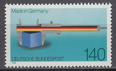 "Germany Bund BRD 1988 ** Mi.1378 Flagge Flags  ""Made in Germany"""