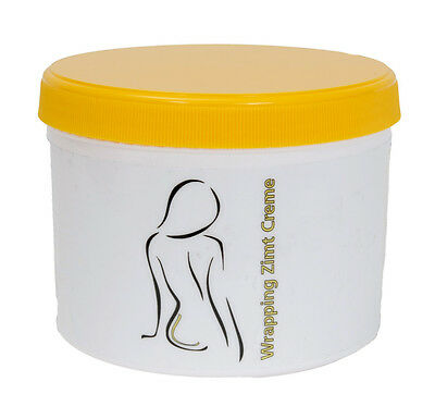 Wrapping Zimt / Anti Cellulite Creme  baut Körperfett sichtbar ab 500ml