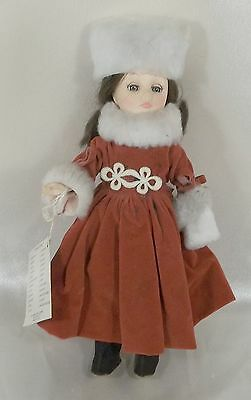 """Vintage Collectible Effanbee 11"""" International Vinyl Doll - Russia with Tags #2"""