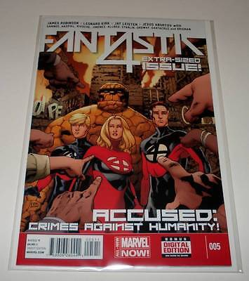 FANTASTIC 4 # 5  Marvel Comic  July 2014   NM