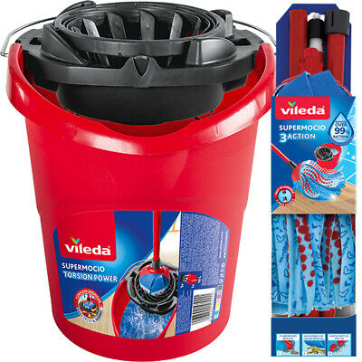 Vileda SuperMocio Compact Mop & Bucket Set