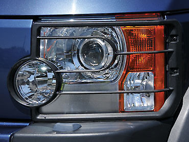 Land Rover Discovery 3  Front Light / Lamp Guard Kit  VUB501200 PAIR