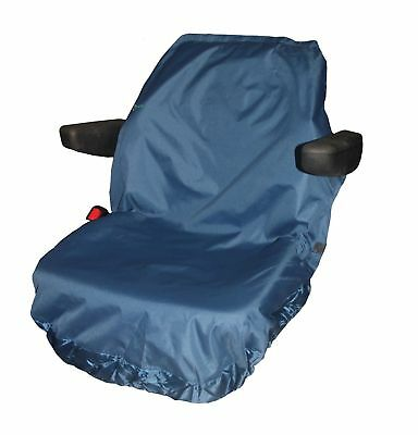 Tractor / Forklift /excavation Equipment Seat Covers (Large) Blue