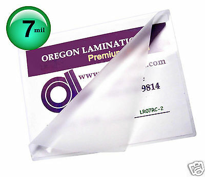 200 Letter size Hot 7 Mil Laminating Pouches 9 x 11-1/2 Clear