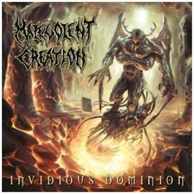 Malevolent Creation - Invidious Dominion +2 BONUSTRACKS CD NEU OVP