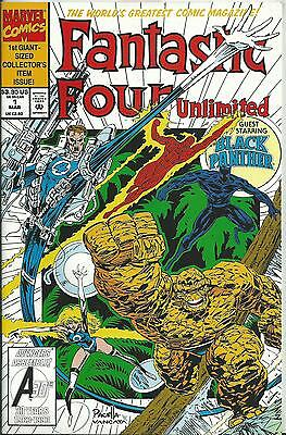 Fantastic Four Unlimited #1 (Marvel)  1993 (64 Pages)