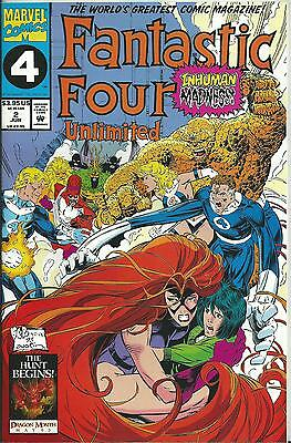 Fantastic Four Unlimited #2 (Marvel)  1993 (64 Pages)