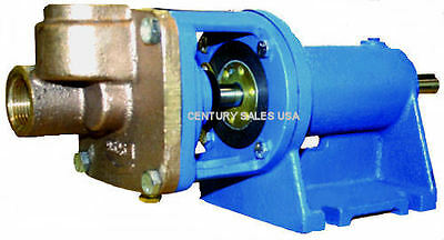 "Burks Condensate Turbine Boiler Feed Pump Et6M   5/8"" Shaft  Base Mounted"
