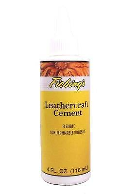 Leather Cement, The Original Leather Adhesive 4 oz (118 mL) by Fiebing's 2655-02