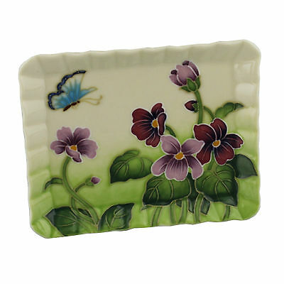 Old Tupton Ware TW7985 Primrose & Butterfly Design - Plate Gift   22190