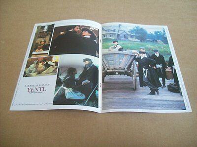 Yentl Streisand Patinkin Arving Persoff Program From Japan (5Th June)