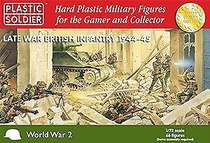 15mm WWII (British): Late War Infantry  NEW