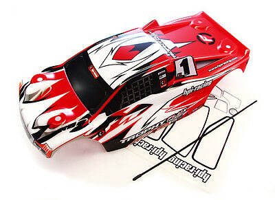 HPI Trophy Truggy Flux * BODY & DECALS * Posts Mount Red Shell 1/8 101808 107018