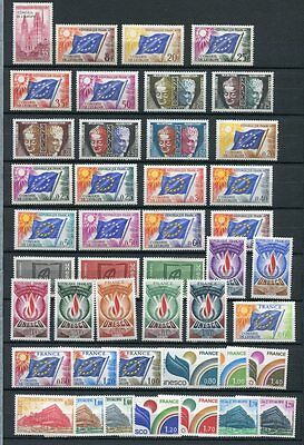 FRANCE 1958-78 UNESCO MNH COLLECTION 43 Stamps cat Euro 70