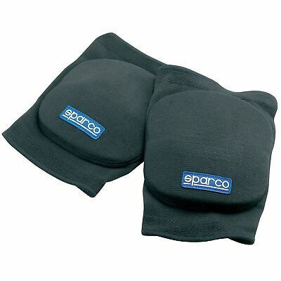 Sparco Go Kart/Karting/Mechanics/Motorsport Knee Pads/Protection - In Black