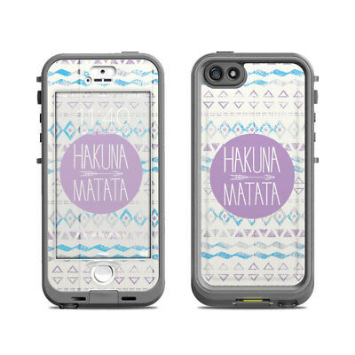 Skin for LifeProof Nuud iPhone 5S - Hakuna Matata - Sticker Decal