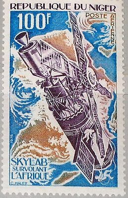 NIGER 1974 446 C244 Skylab over Africa Space Station Weltraumstation Raumfahrt**