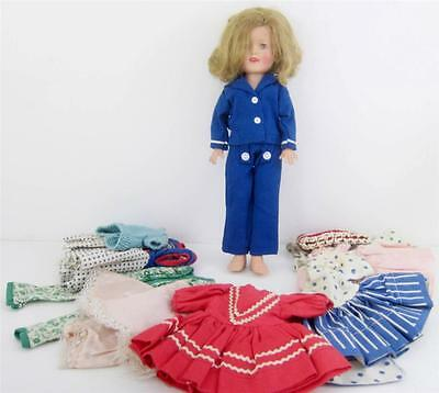 """Ideal Shirley Temple 12"""" Doll Captain + 8 Outfits Tag Captain January Lot 1962"""