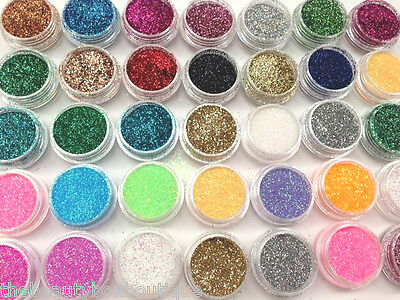 Holographic Glitter Pots - For Face Painting Temporary Tattoos Body Art Nail Art