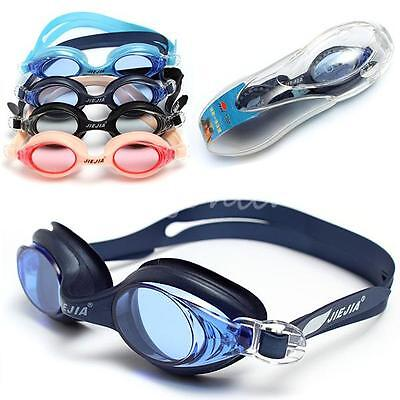 JIEJIA Waterproof Adjustable Anti-fog UV Protection Swimming Goggles Glasses