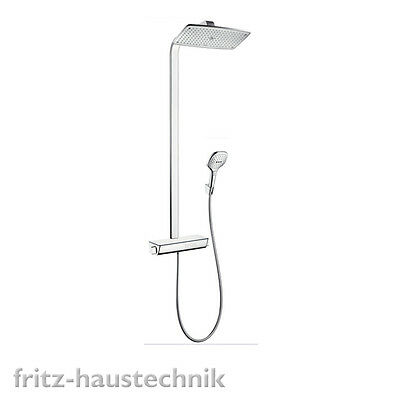 hansgrohe raindance select e 360 showerpipe dn15 27112000 thermostat kopfbrause eur 839 00. Black Bedroom Furniture Sets. Home Design Ideas