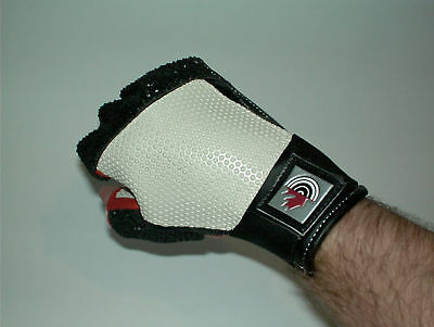 Pre-Curve Leather Shooting glove Fingerless ISSF  approuved Great deal!