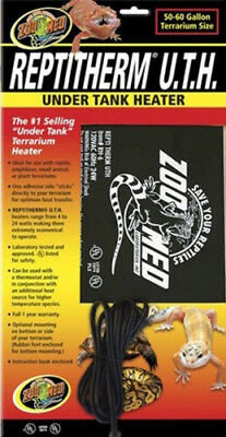 Zoo Med Reptitherm Under Tank Heater 50-60 Gal