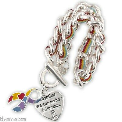 Autism Awareness Charm Bracelet The Pieces Of The Puzzle Will Be Put Together
