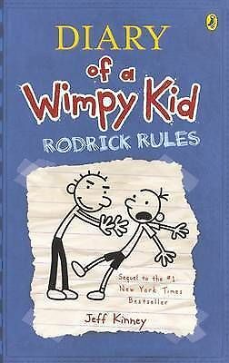 DIARY OF A WIMPY KID - Rodrick Rules By Jeff Kinney