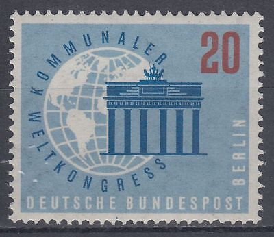Germany Berlin 1959 ** Mi.189 Weltkongress World-Congress | Erdkugel Globe