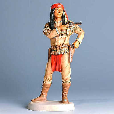 CASTAGNA Westerncollection COCHISE APACHE Limited Edition Made in Italien