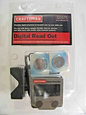 Craftsman Digital Readout for Table Saw 22575 NEW #5e2