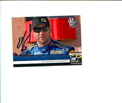 Elliott Sadler NASCAR Driver 2009 Press Pass Signed Autograph Photo Card