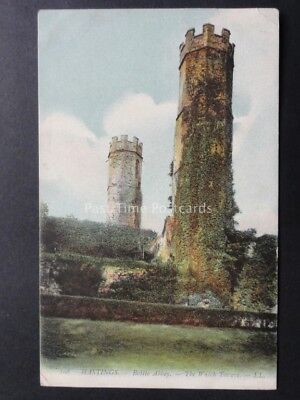 Sussex: LL.108 HASTINGS Battle Abbey - The Watch Towers c1906
