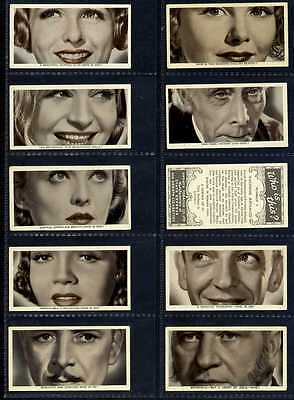 Full Set, Ardath, Who is This ? (Film Stars) 1936 VG+ (Gq930-159)