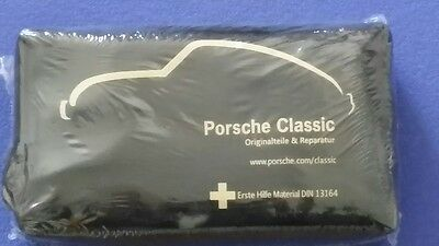 Porsche Classic 356 914 911 912 964 993 924 944 968 928 First Aid Kit New Black