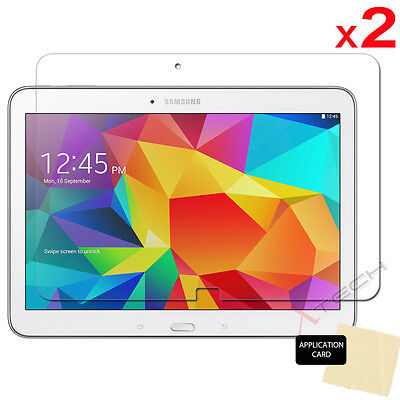 2x Samsung Galaxy Tab 4 10.1 Inch T530 Series CLEAR LCD Screen Protector Cover